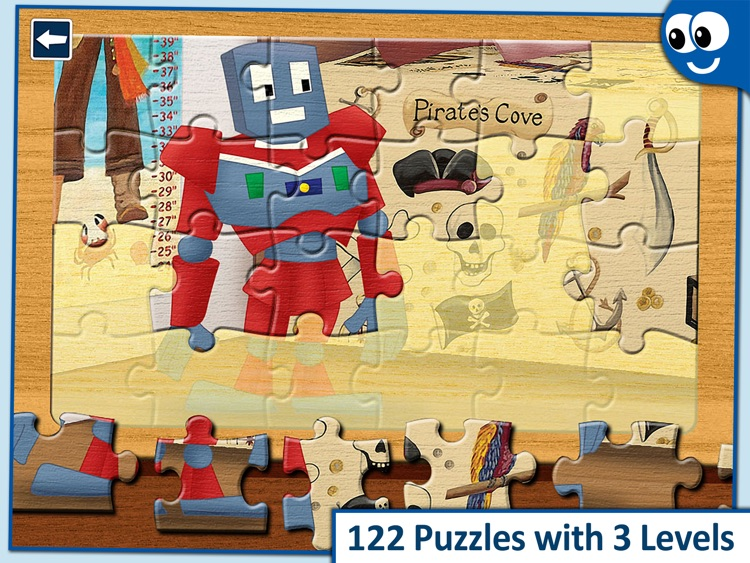 Kids Puzzles 4+: Jigsaw Puzzle School Learning Game for Preschoolers and Toddlers to Develop Concentration and Problem Solving Skills screenshot-0