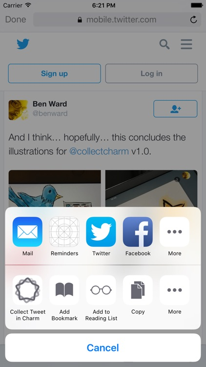 Charm for Twitter: Collect and curate Tweets screenshot-4