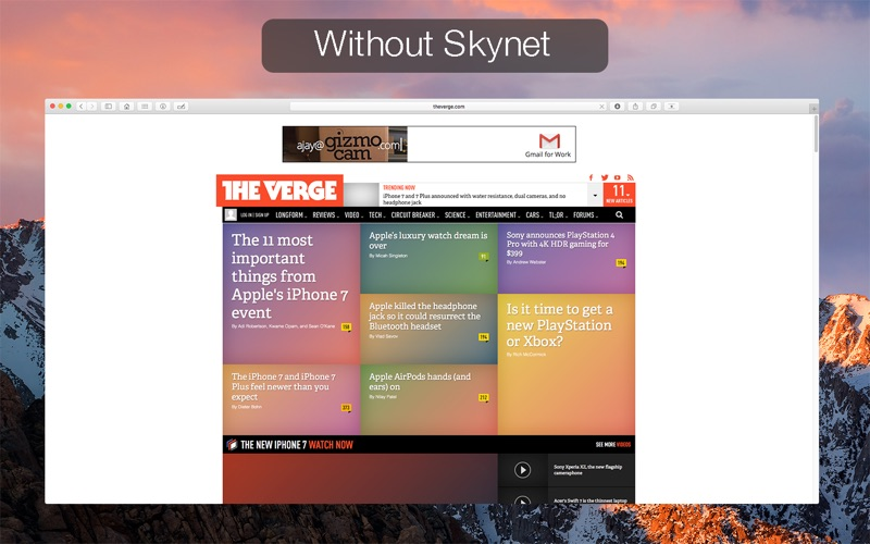 Skynet : Ad Blocker for Safari