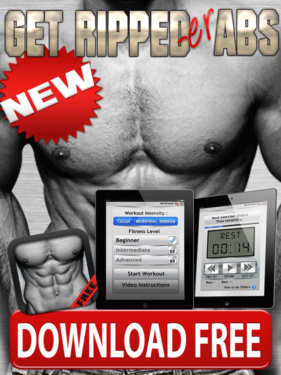 Ab Workout X FREE - SixPack Core Exercises & Abdomen Trainer screenshot