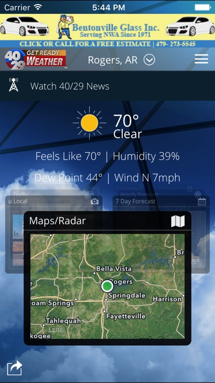 40/29 Weather - The best live, local weather.