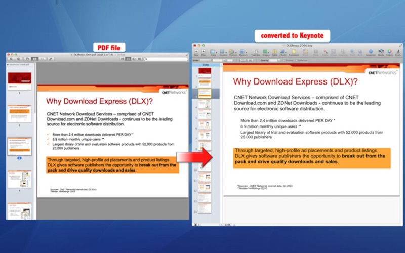 PDF to MS Office iWork Suite | App Price Drops