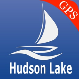Hudson lake GPS Nautical Chart