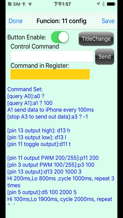 BLE control for Arduino screenshot-2
