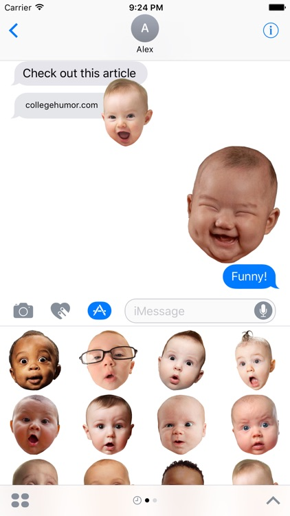BabyFaceMOJI screenshot-0