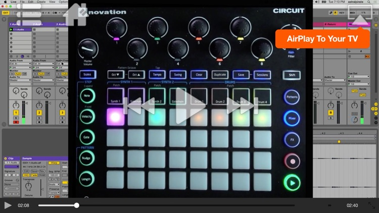 Adv. Course For Novation Circuit screenshot-4