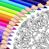 Fun Games For Free - Colorfy: 大人のための塗り絵 アートワーク