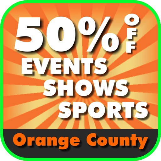 50% Off Orange County, California Events, Shows and Sports Guide App by Wonderiffic®