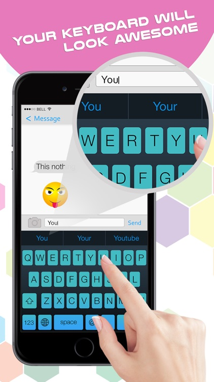 My Fancy Keyboard Themes - Colorful Keyboards for iPhone,iPad & iPod