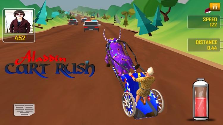 Aladdin Cart Rush 3D - Fun Racing Game for Kids screenshot-3