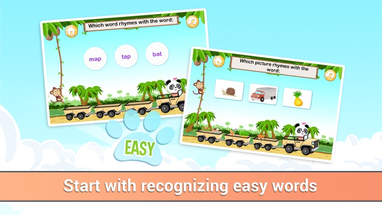 Learn to Read with Lola - Rhyming Word Jungle