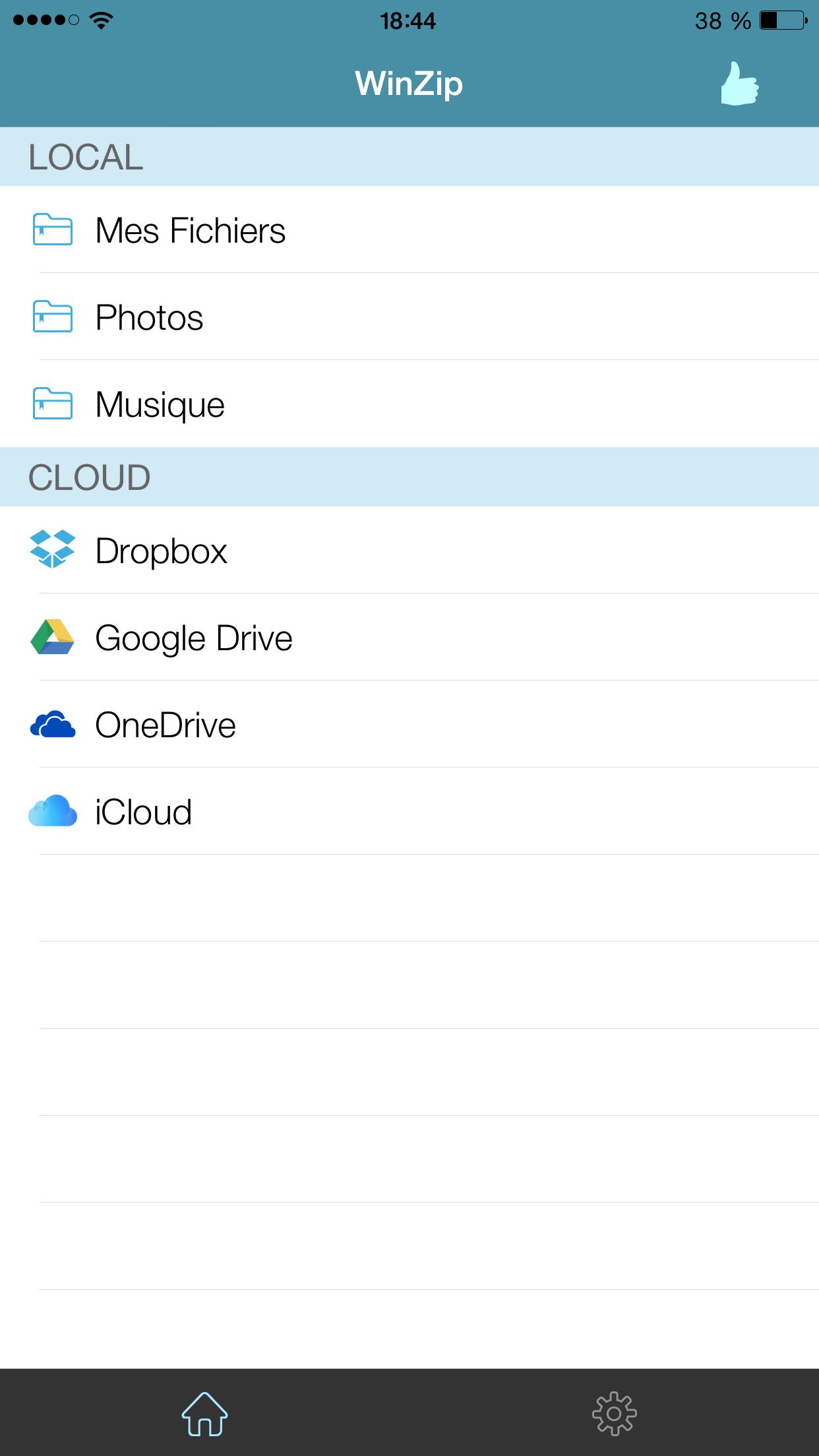 WinZip: #1 zip & unzip tool Screenshot