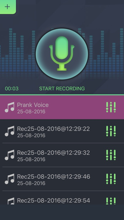 Voice Changer Prank Recorder Modulator - Record Sound with Funny Voice Player