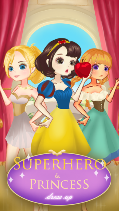 SuperHero Beauty Frozen Frenzy Mania Dress Up Game free Resources hack