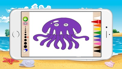 Underwater Coloring Book for Children screenshot three