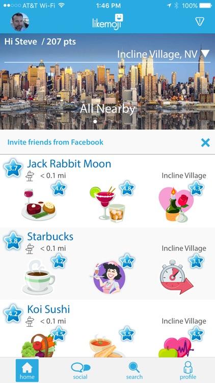 Likemoji - Restaurant Finder & Local Reviews