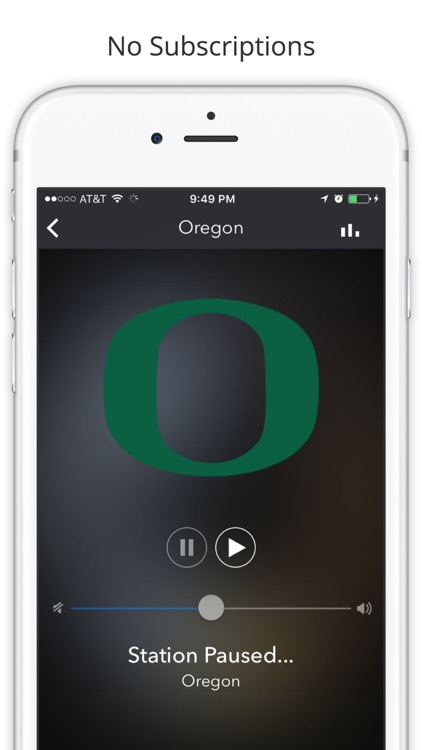 PAC 12 College Football Radio - Live Games screenshot-1
