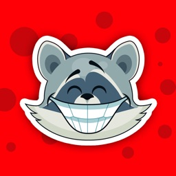 Raccoon - Sticker Pack