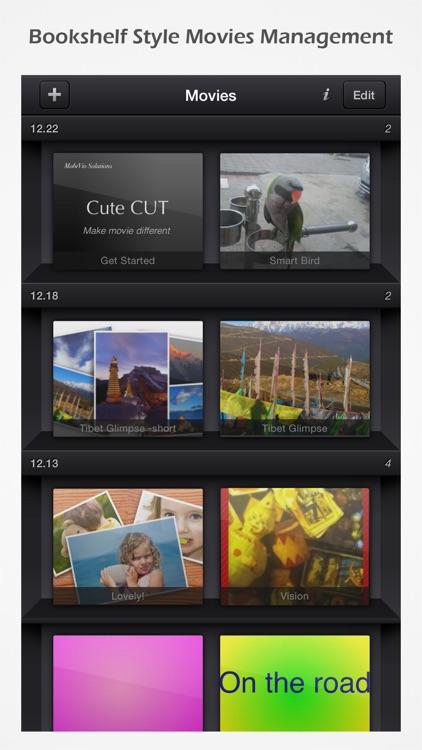 Cute CUT - Full Featured Video Editor app image
