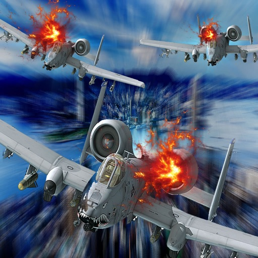 Race Explosive Combat Aircraft - Dangerously Addictive Simulation Game Aerial