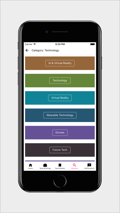 Anders Pink: Discover, Learn, Curate, Collaborate screenshot four