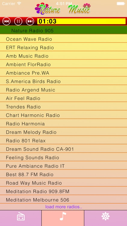 Calming Music: Nature Sounds Radios