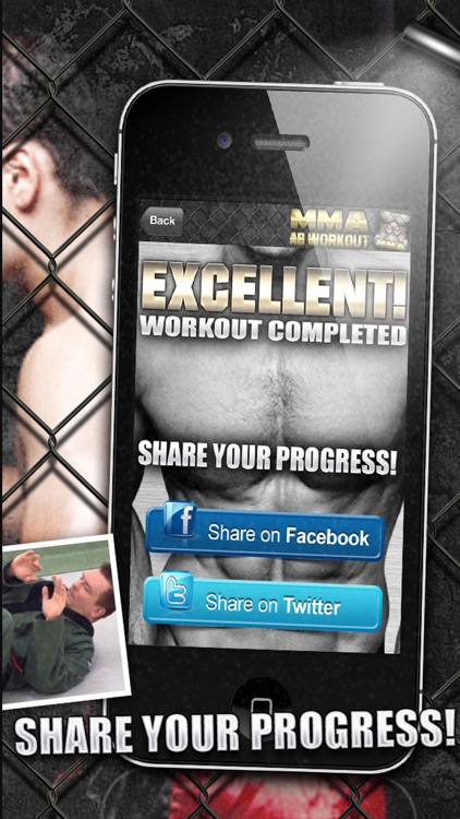 Ab Workouts MMA+ FREE Core Strength Abdominal Flex screenshot-4