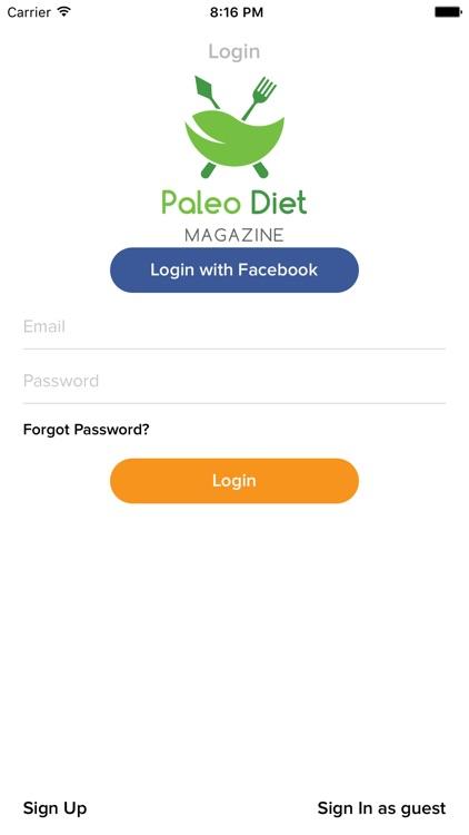 Paleo Diet Magazine screenshot-3