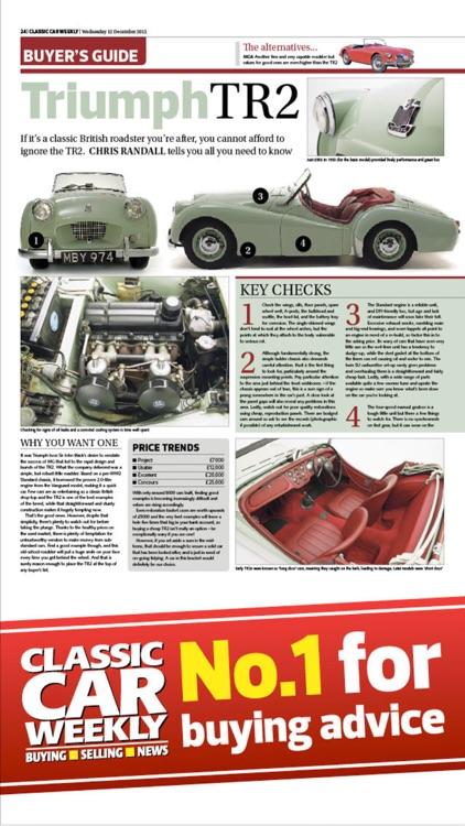 Classic Car Weekly: news, analysis & cars for sale screenshot-3