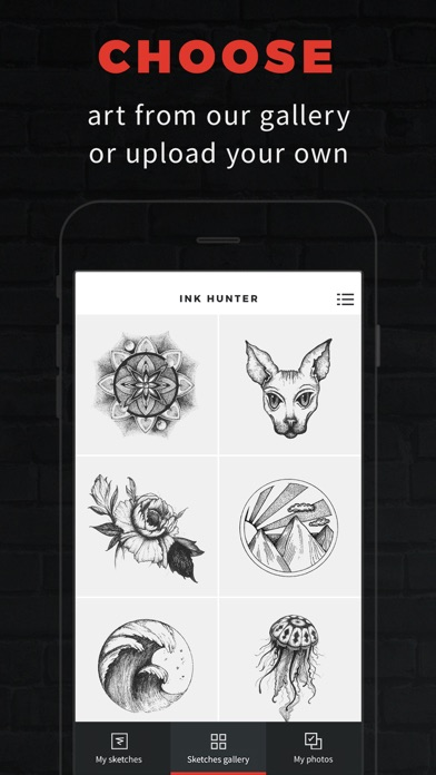 INKHUNTER PRO Tattoos try on screenshot 1