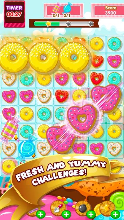 Gummy Wonders Adventure: Amazing Match3 Puzzle Game