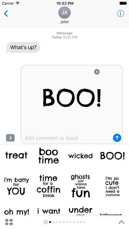Say it on Halloween screenshot-3