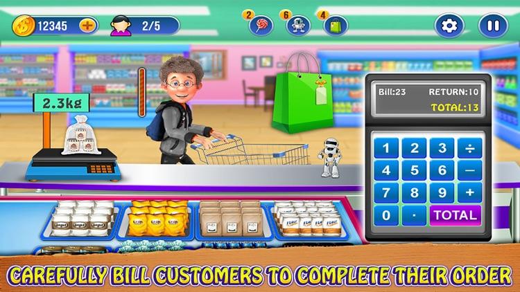 Supermarket Register Cashier