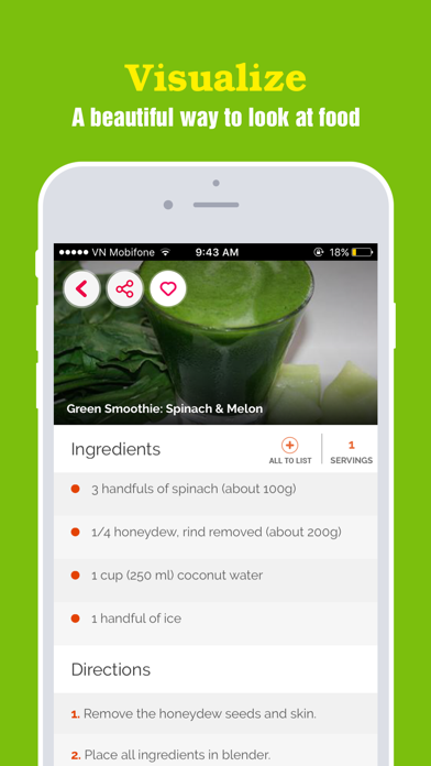 Yummy Smoothie ~ Best of green smoothie recipes screenshot two