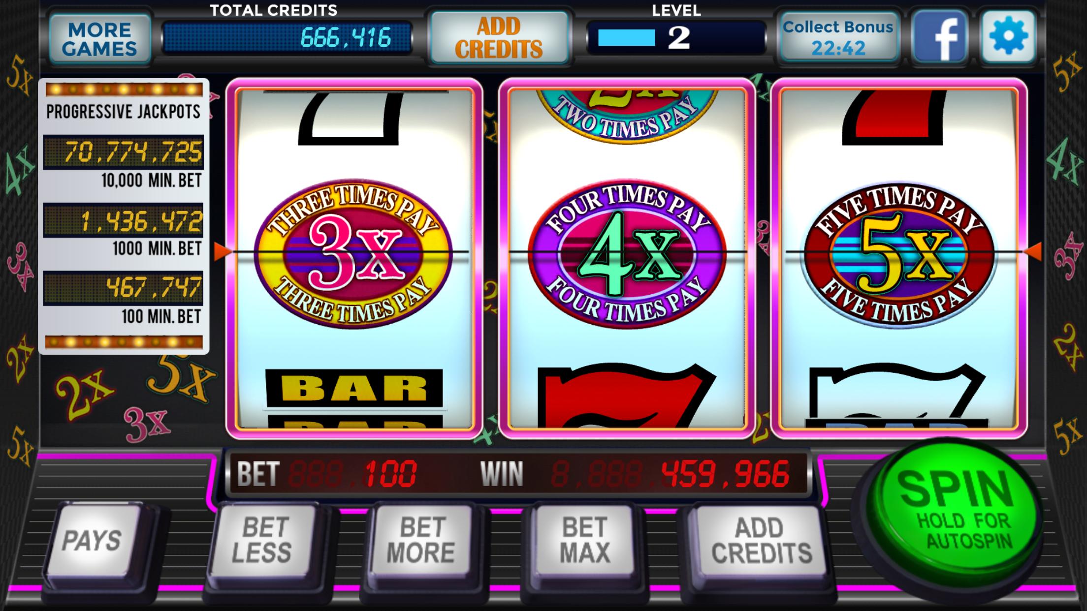 777 Stars Casino - Free Old Vegas Classic Slots Screenshot