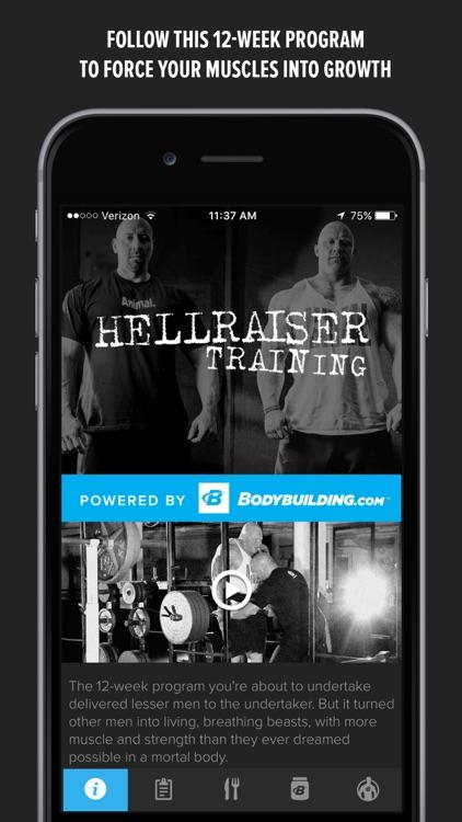 Hellraiser Training by Animal