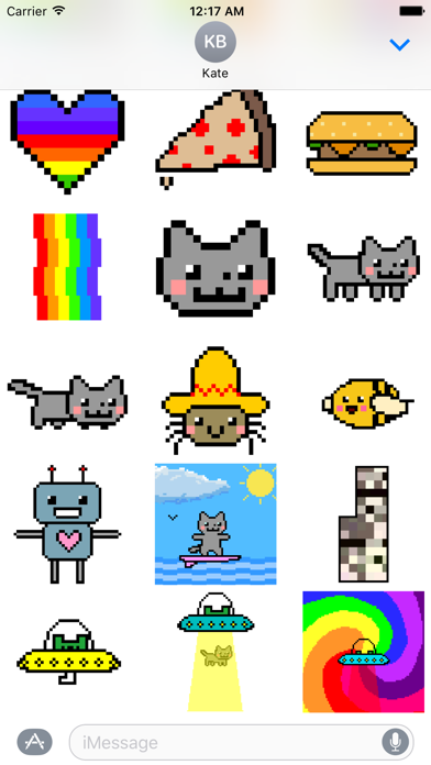 Nyan Cat Stickers!