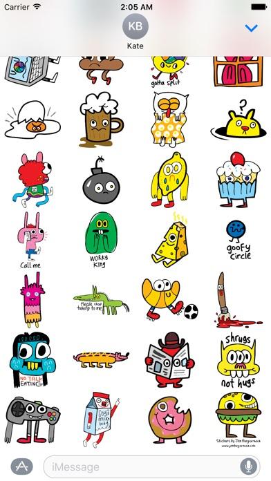 Screenshot #6 for Burgerworld stickers