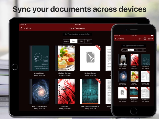 PDF Files - Reader & Library Screenshot