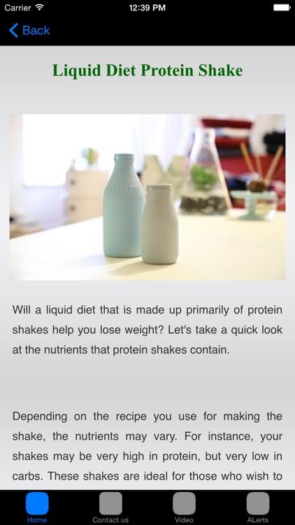 Liquid Diet Plan & Recipes #1 Weight Loss Diet