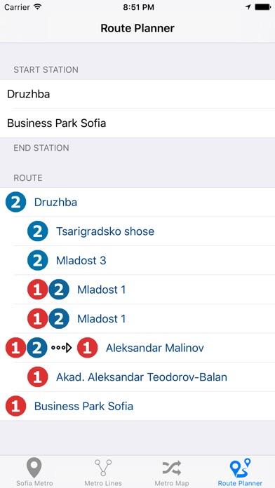 Sofia Metro Screenshot 2