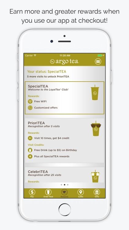 Argo Tea LoyalTea App