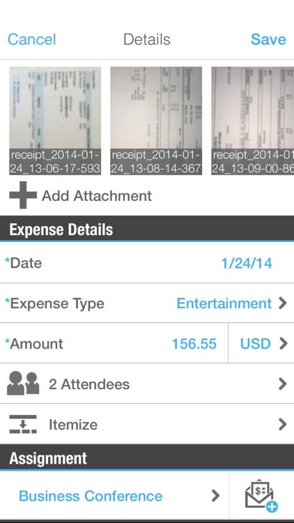 SAP Cloud for Travel and Expense screenshot-2