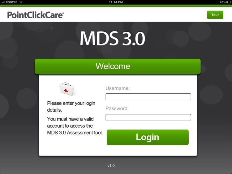 PointClickCare Mobile MDS