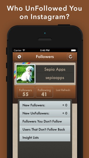 UnFollowers for Instagram + on the App Store