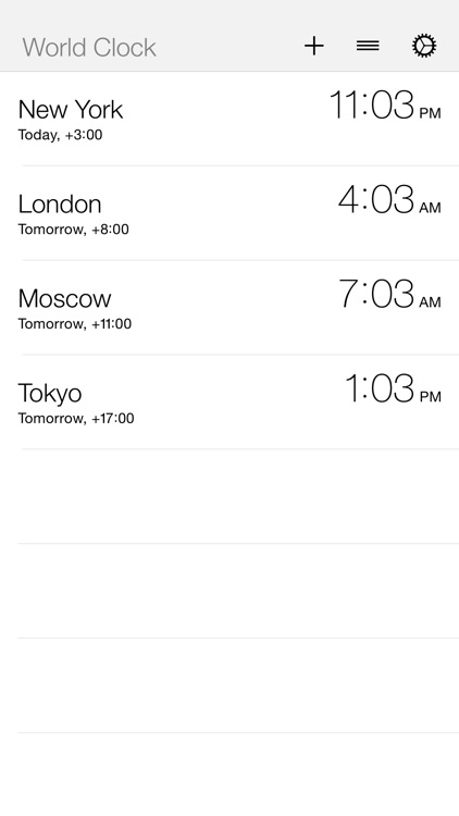 World Clock Today Widget