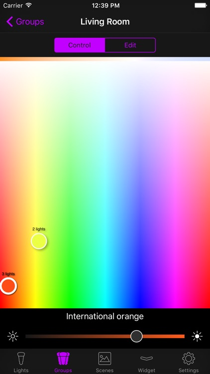 Hue Widget screenshot-4
