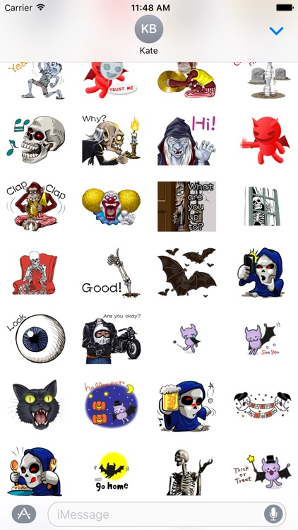Halloween Stickers Variety Pack