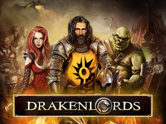 Drakenlords CCG на iPad