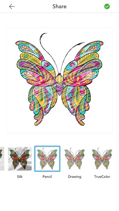 Бабочки Раскраски Для Взрослых для iPhone и iPad скачать ...